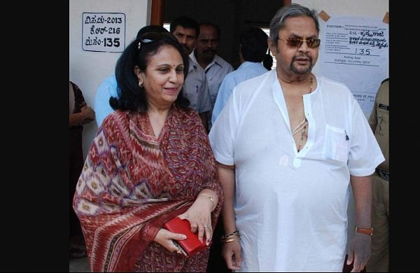 Pramoda Devi Wodeyar and her husband, Mysuru royal scion Srikantadatta Narasimharaj Wodeyar. (Photo | File/ PTI)