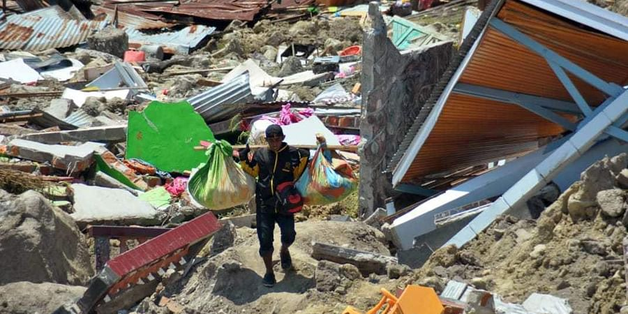 India dispatches relief material to tsunami-hit Indonesia