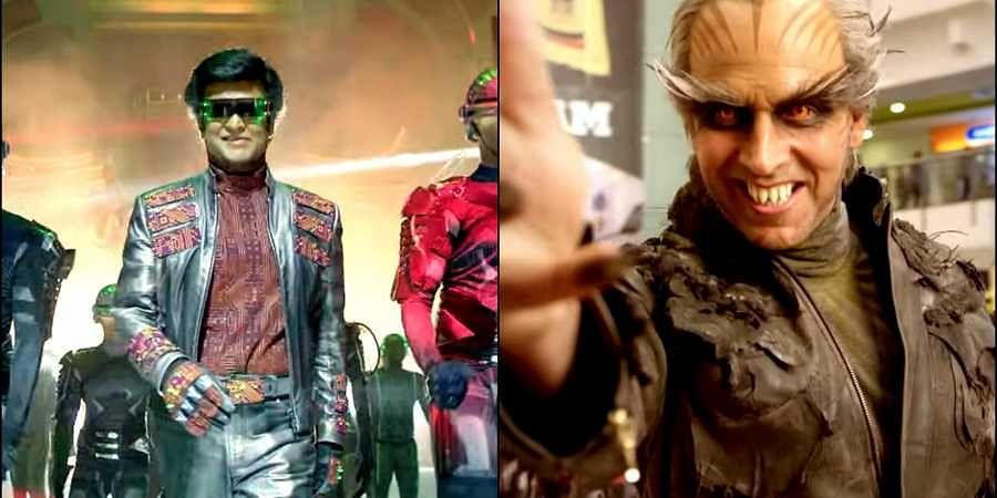 Akshay Kumar New Look Behind The Scenes In 2.0 Movie