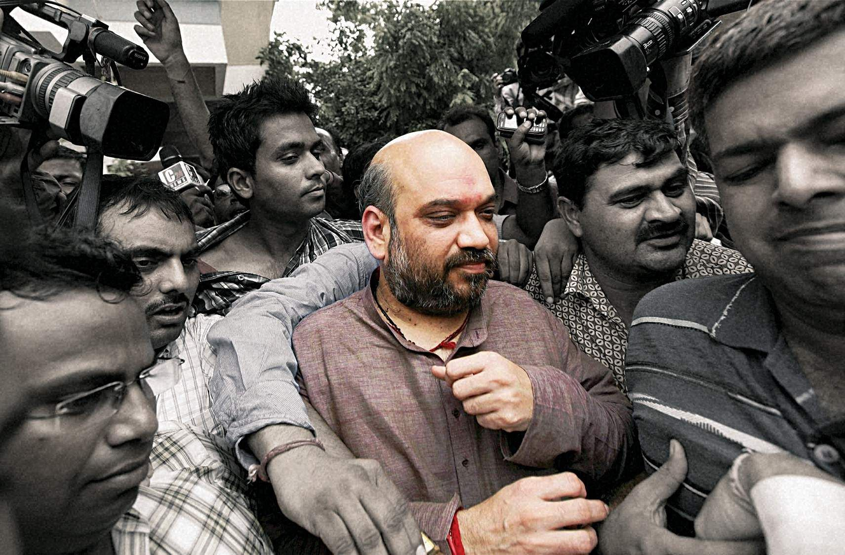 Image result for Amit Shah rare images