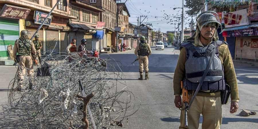Jammu and Kashmir, Encounter