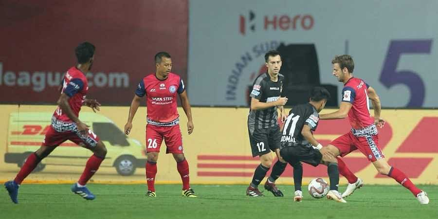 A Visual From Atk Vs Jamshedpur Fcs Match During The Indian Super League On  Photo Jamshedpur Fc Twitter