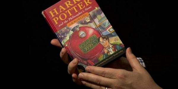 A Harry Potter book (Photo | AP)