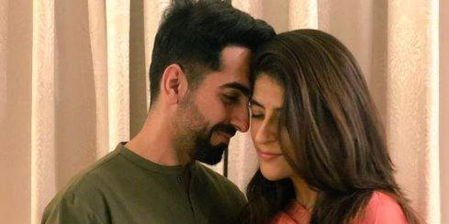 Ayushmann Khurana Takes All Limelight Fasts For Wife Tahira On Karva Chauth The New Indian Express