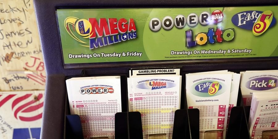 FILE - In this Tuesday, Oct. 23, 2018 file photo, lottery forms for Louisiana Mega Millions, Powerball and other lottery games fill the drawer at The World Bar and Grill, in Delta, La., a few miles from the Mississippi-Louisiana state line.(Photo | AP)