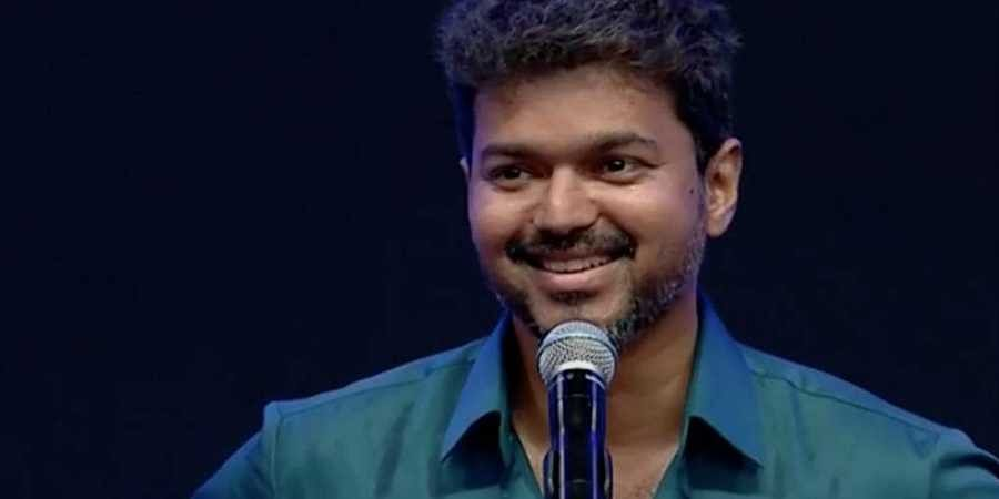 Image result for vijay's speech in audio launch indian express