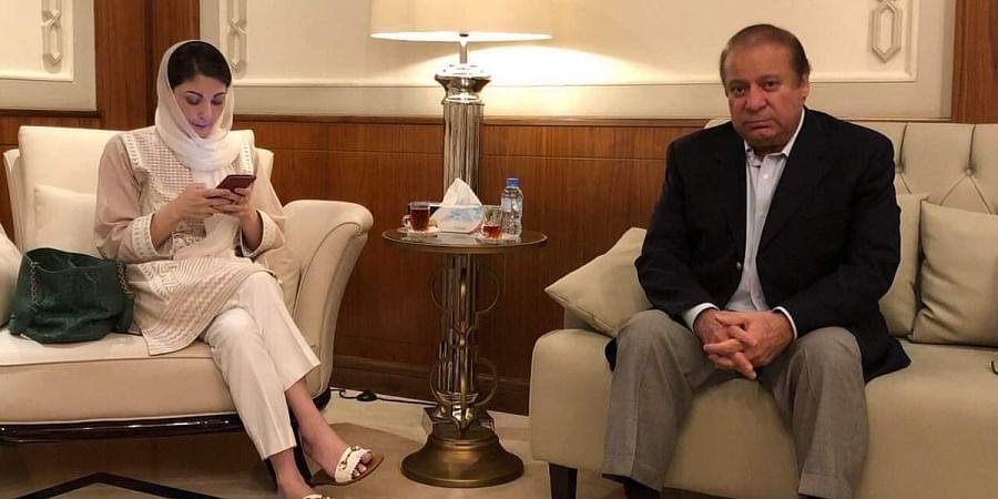 Nawaz Sharif and Maryam