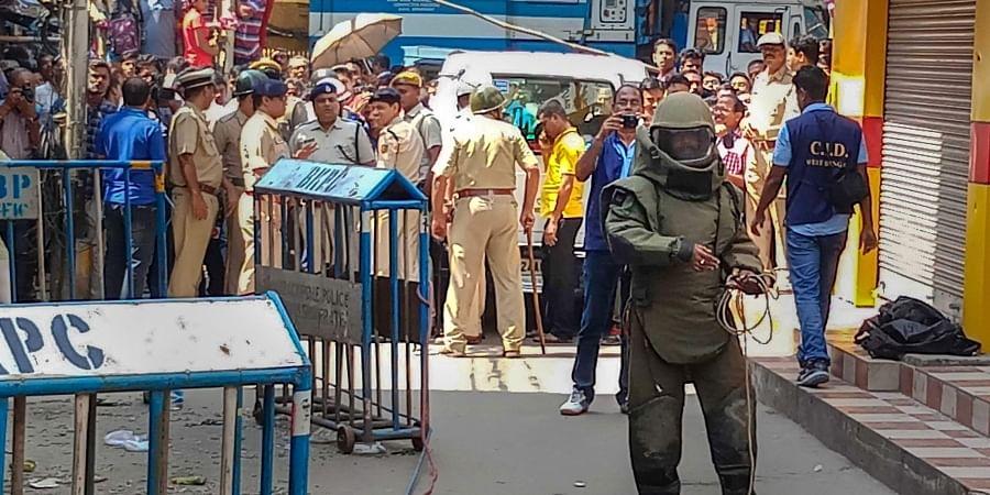 Kolkata blast