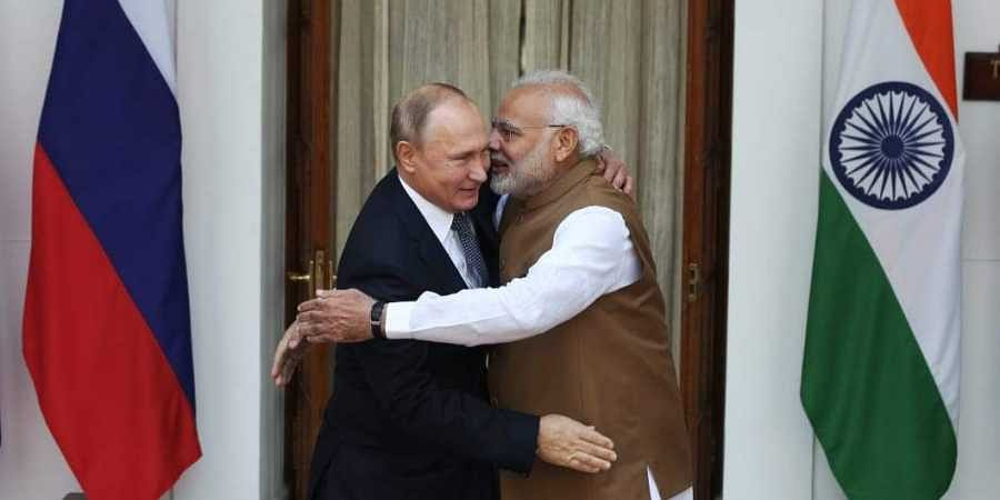 Narendra Modi, Vladimir Putin