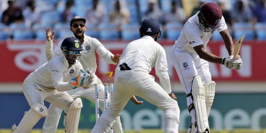 West Indies all out for 181 vs India, to follow on- The New