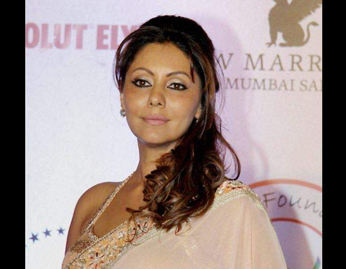 Bollywood Filmmaker Gauri Khan During The Fashion Designer Vikram Phadnis Fashion Show In Mumbai File Pti