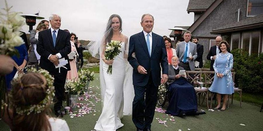 Barbara Bush marries Craig Louis Coyne in private ceremony