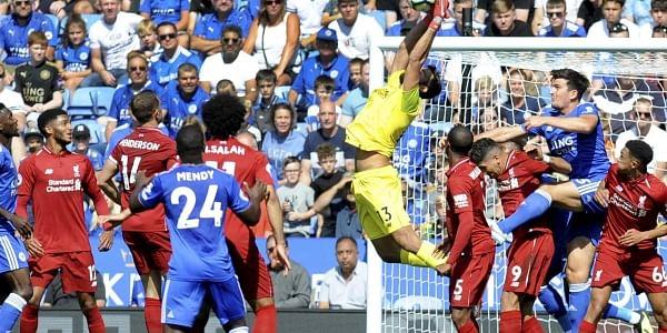 Liverpool's goalkeeper Alisson (File | AP)
