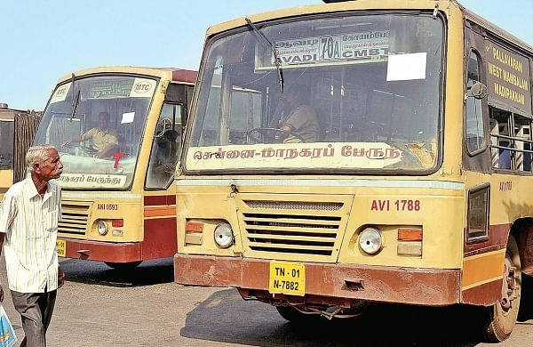 Image for representational purpose for MTC buses. (EPS file photo)