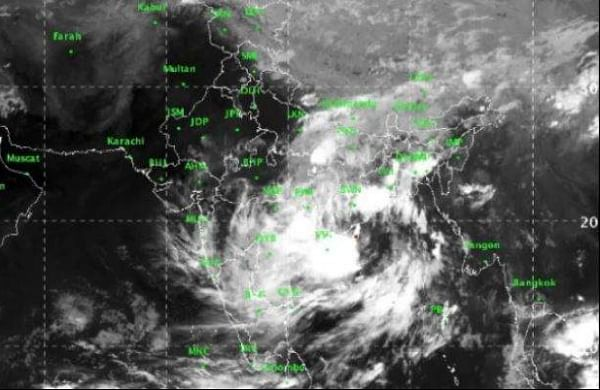 Cyclone Image for representation.( Photo |IMD)