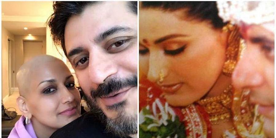 Sonali Bendre writes emotional message for husband on wedding