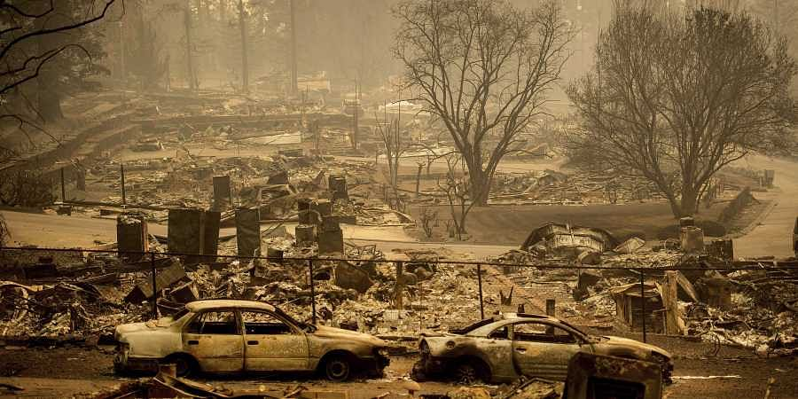Trump continues to blame wildfires on forest mismanagement