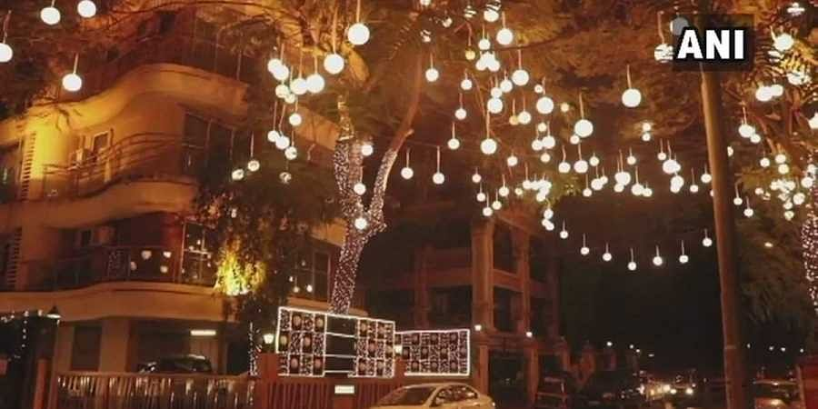 See how Bhavnani residence is all decked up to welcome ...