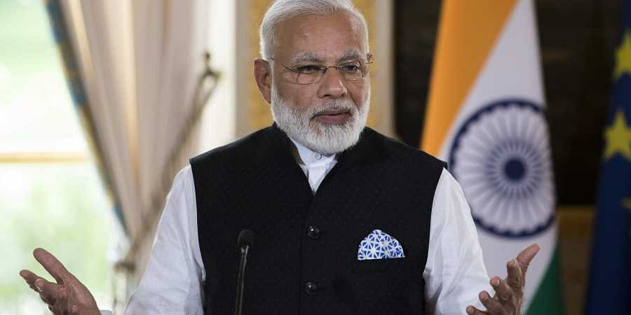 Congress crying over demonetisation as it has lost money: PM Modi