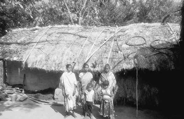 Women of Mankidia community at the remote Khadia Colony in Patpura   Express