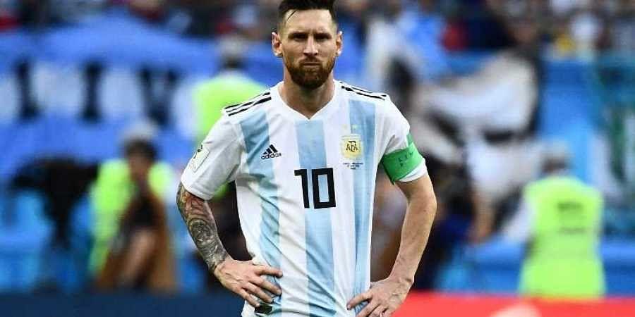 Argentina striker Lionel Messi. (File | AFP)