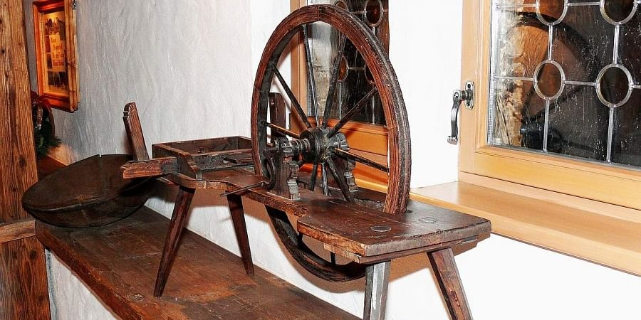 Spinning charkha helps improve mental health: Study- The New