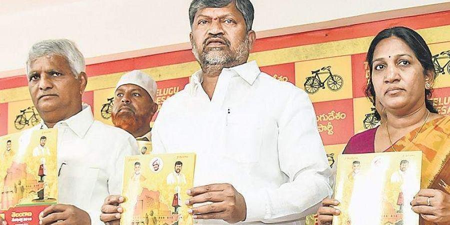 Telangana Congress releases manifesto, hits TRS where it