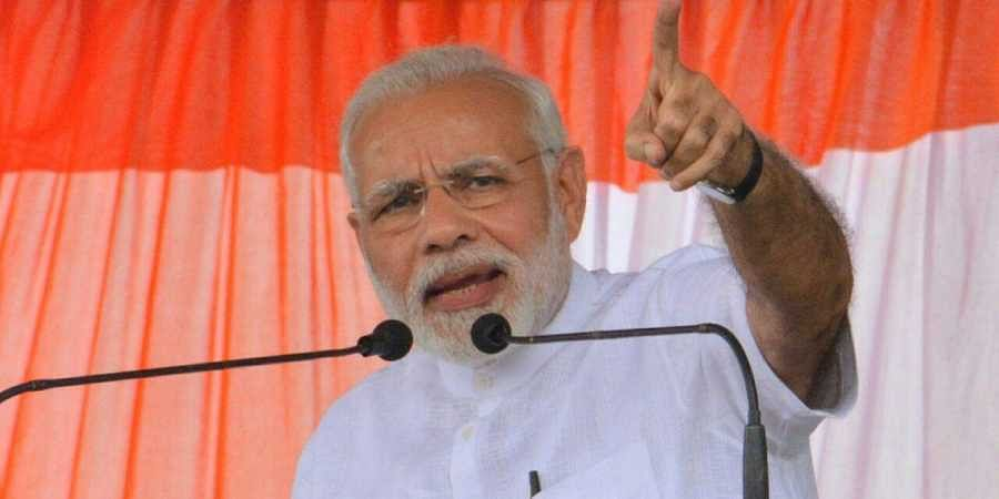 PM Modi attacks Congress for seeking video proof of surgical strike