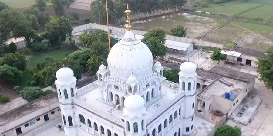 Image result for Venkaiah Naidu lays down foundation stone of Dera Baba Nanak - Kartarpur Sahib Corridor