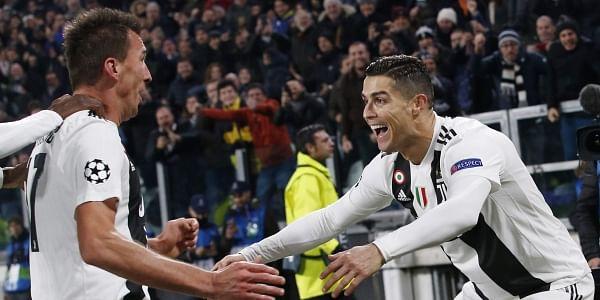 Mandzukic and Ronaldo