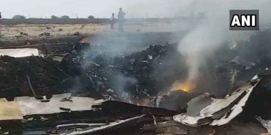 Hyderabad plane crash