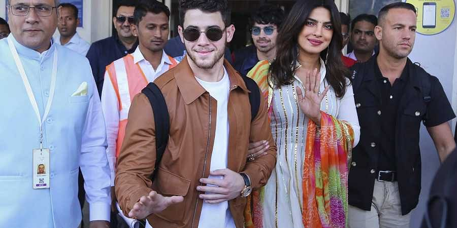 Priyanka, Nick arrive in Jodhpur for their wedding