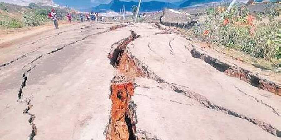 Image result for polavaram project cracks