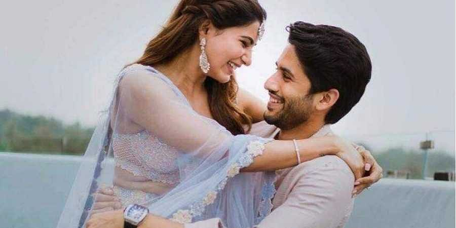 Image result for Samantha and Naga Akkineni