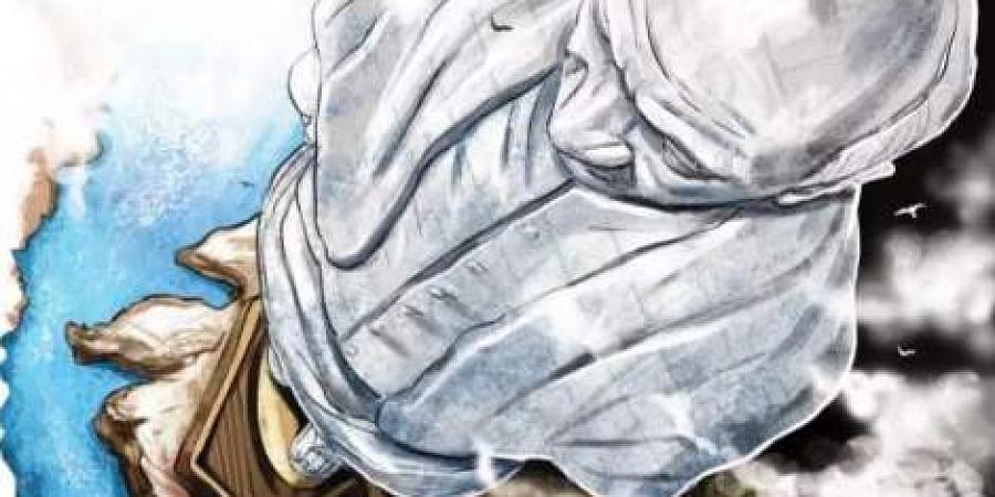 Statue of Unity illustration