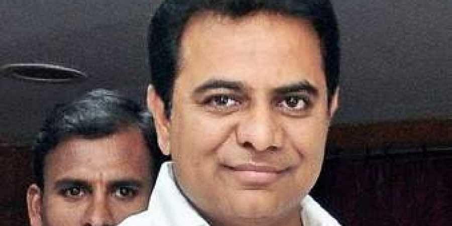TRS leader KT Rama Rao. (File photo)