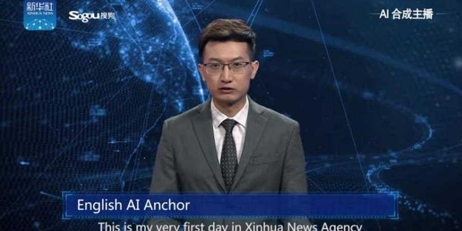 Journalists beware! China introduces Artificial Intelligence