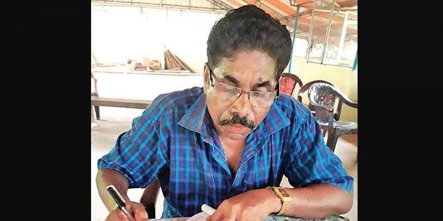 S Rajendran, a 66-year-old tribal chief from Achankovil, Kollam