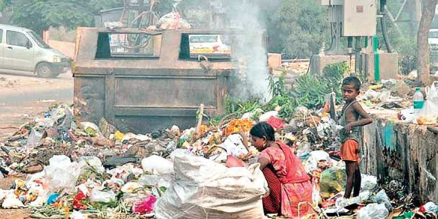 Waste dumping, burning down by 75 per cent in Narela, Bawana- The