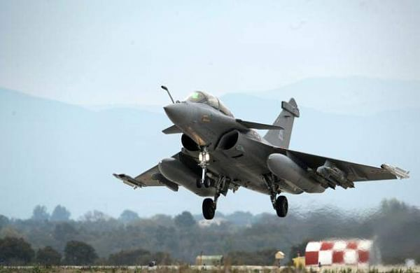 An image of a Rafale fighter jet made by Dasault Aviation. (Photo | AFP)