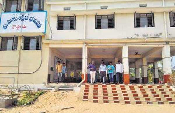 The multipurpose shelter at Pathuru of Nizampatnam mandal