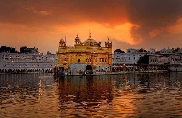 306c629a8 Punjab CM Amarinder Singh condemns use of Golden Temple picture with  toilet  seat - The New Indian Express