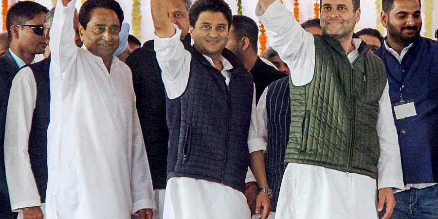 Congress CMs-swearing in ceremony-Mahagathbandhan
