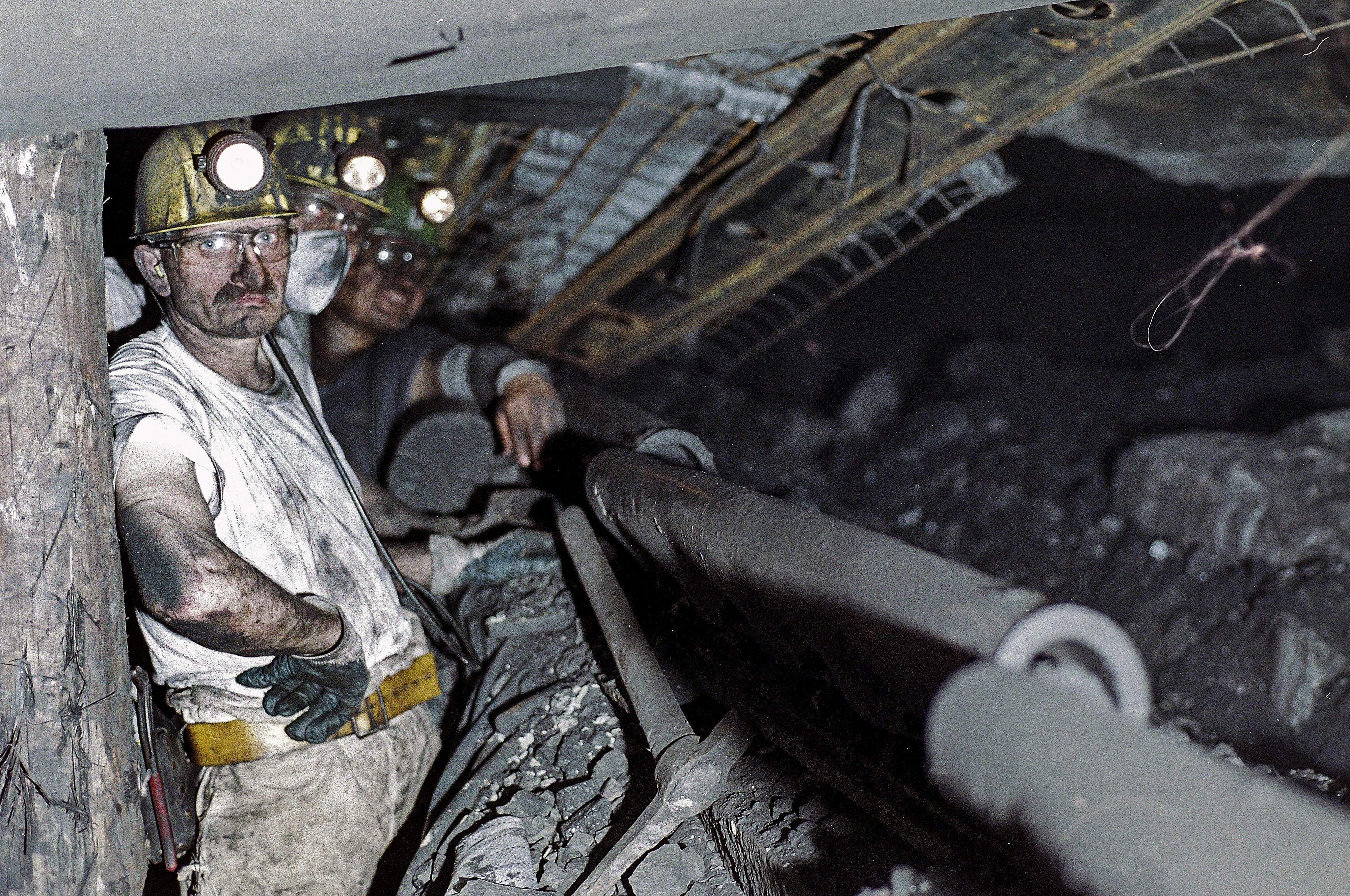 mine workers coal mine mining