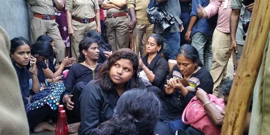 Sabarimala protests, Sabarimala women