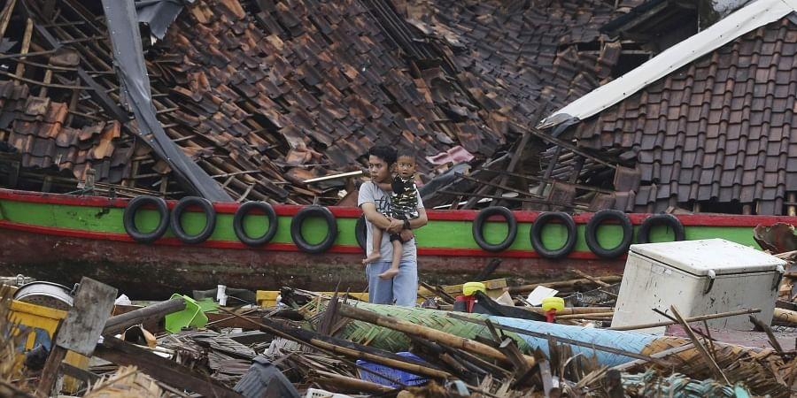 Christmas Tsunami.Indonesia Prayers For Tsunami Victims Replace Christmas