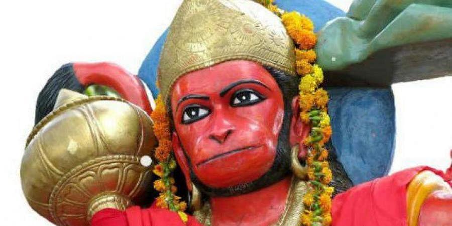 Lord Hanuman dressed as Santa Claus in Gujarat temple irks