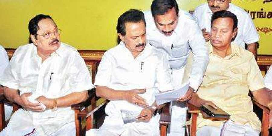 DMK to organise meetings in 12,617 villages- The New Indian Express