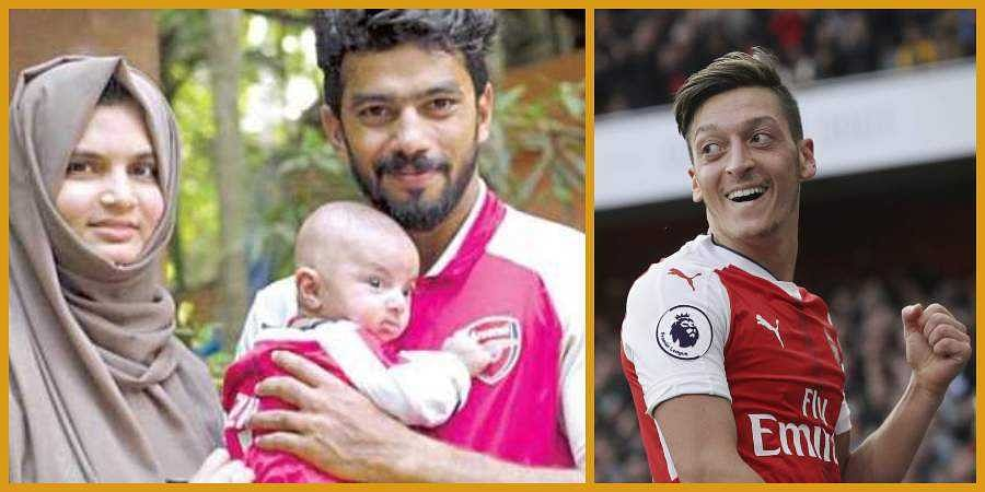 reputable site 37aca 3f8a8 WATCH | Arsenal sends jersey for Kerala boy named after ...