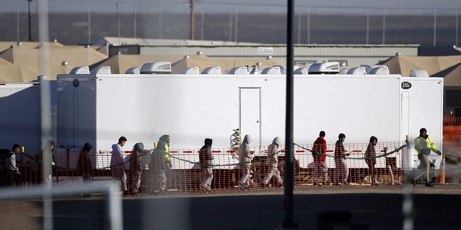 Immigration camp